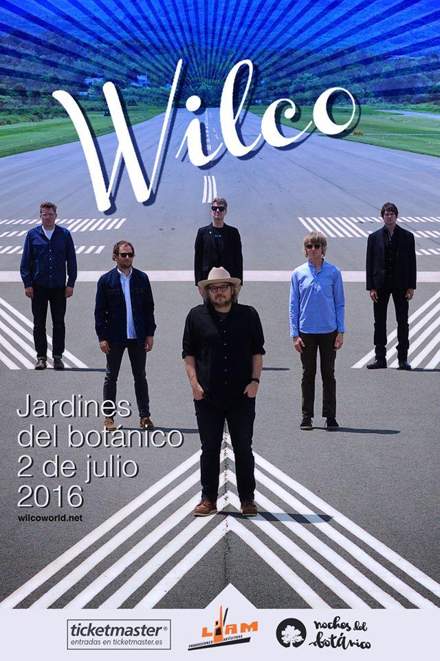Wilco en Madrid el 2 de Julio