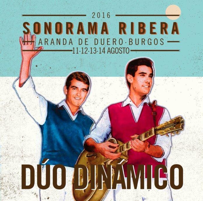 Dúo Dinámico Sonorama Ribera 2016