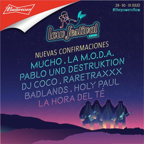 8 Confirmaciones Low Festival