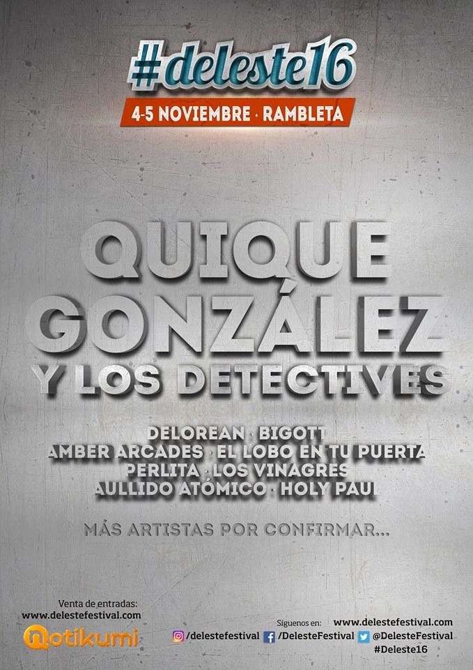 Quique González Deleste 2016