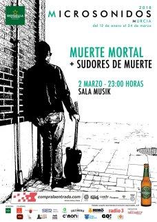 Muerte Mortal Microsonidos